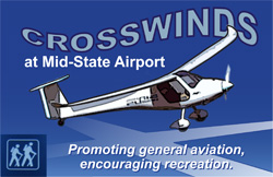 Crosswinds at Mid-State Airport